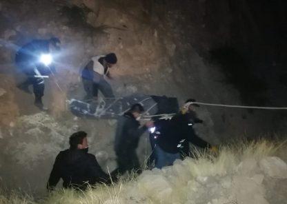 Arequipa: camioneta con trabajadores del GRA se accidenta en Condesuyos