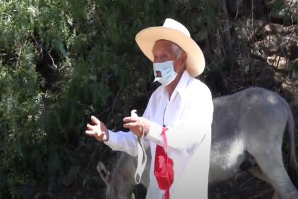 Arequipa: amante del teatro presenta su monólogo loncco «La Senccapa»