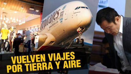 Vuelven viajes por tierra y aire   |  Al vuelo, noticias desde Arequipa