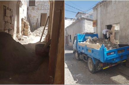 Municipio denuncia atentado contra casona histórica en Yanahuara
