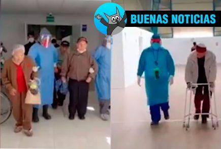 Adultos mayores de los asilos de Arequipa vencen al Covid-19
