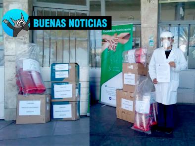 Médicos Solidarios continúa campaña para colaborar con personal médico