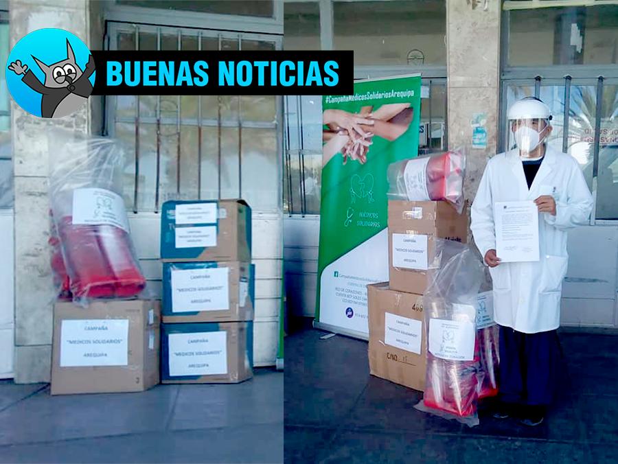 campaña de médicos solidarios arequipa donacion
