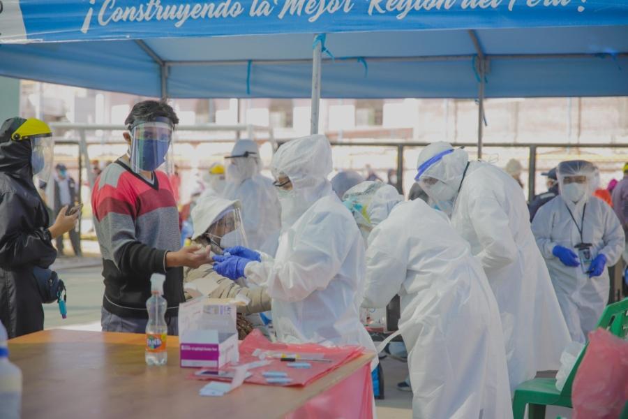 Arequipa: el 86% de las personas contagiadas de covid-19 se ha recuperado