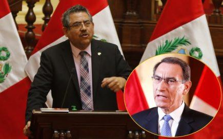 Presidente del Congreso: Crisis de gabinete es responsabilidad de Vizcarra (VIDEO)