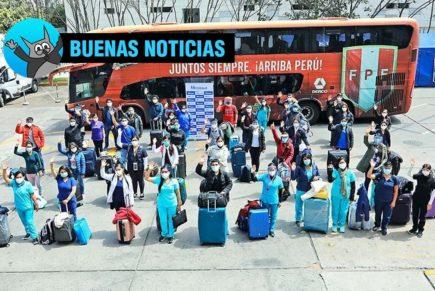 Arequipa: delegación médica de 46 profesionales reforzará lucha contra pandemia