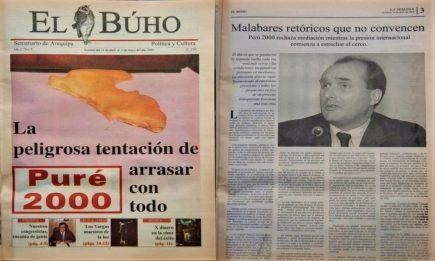 #Hace20Años Puré 2000: La peligrosa tentación de arrasar con todo