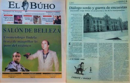 #Hace20Años Cosmetólogo Tudela trata de maquillar lo peor del régimen