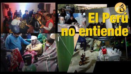 El Perú no entiende: numerosas intervenciones por fiestas