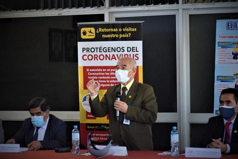 Gustavo Rondón evalúa su posible salida del Comando Covid Arequipa