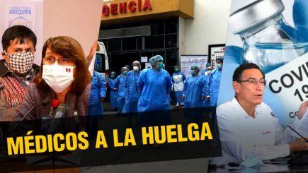 Médicos no atenderán operaciones por huelga|  Al vuelo, noticias desde Arequipa