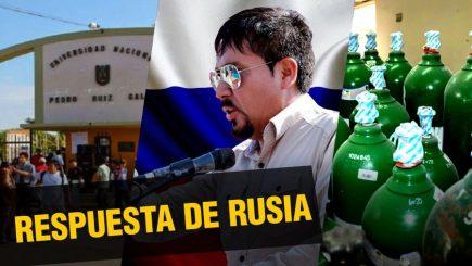 La respuesta de Rusia a la carta de Cáceres Llica |  Al vuelo, noticias desde Arequipa