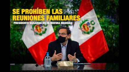 """Vizcarra: """"Ya basta de irresponsabilidades"""" (Video-resumen)"""