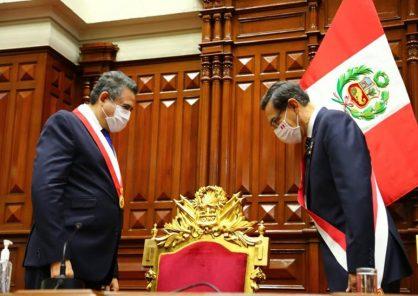 La respuesta de Manuel Merino a Martín Vizcarra