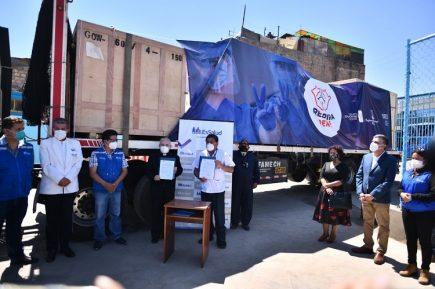Respira Perú entregó planta de oxígeno a Essalud