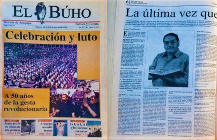 #Hace20años Celebración y luto, a 50 años de la gesta revolucionaria en Arequipa