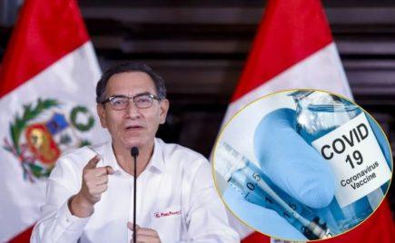 Coronavirus: Presidente Vizcarra anuncia pruebas clínicas para vacunas