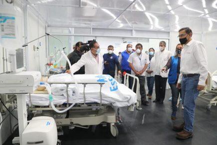 Arequipa: presidente Vizcarra inaugura Villa EsSalud Cerro Colorado para pacientes covid