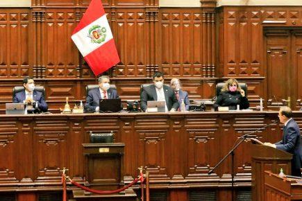 Voto de confianza: Walter Martos y su llamado al Legislativo para el consenso