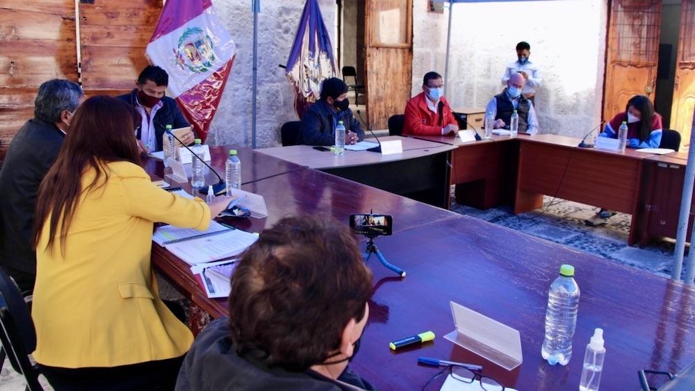 arequipa majes siguas ii convenio minagri consejeros regionales