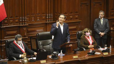 Vacancia presidencial: así fue la votación que rechazó vacancia de Martín Vizcarra