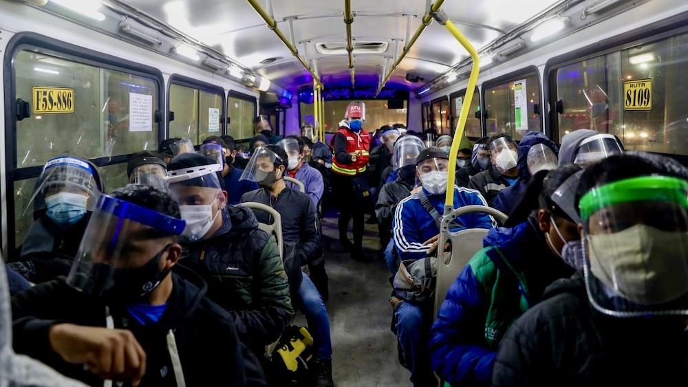 arequipa transporte público aforo total covid arequipa pasajes