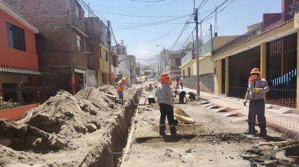 Arequipa: Sedapar encuentra 12 conexiones clandestinas en obra en Uchumayo