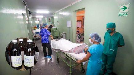 Arequipa: dos pacientes en shock trauma por consumir dióxido de cloro