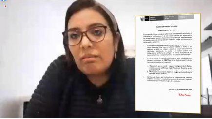 """Vacancia presidencial: Karem Roca se retracta de versiones en """"audios de Vizcarra"""""""