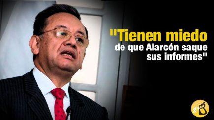 Edgar Alarcón: «Tienen miedo de que saque informes»
