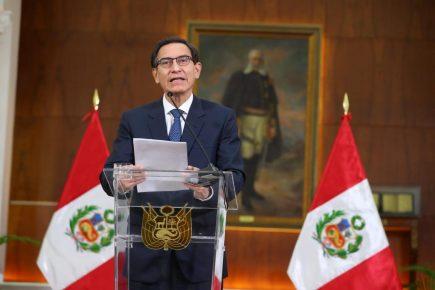 Martín Vizcarra sobre audios del caso 'Swing': «No voy a renunciar»