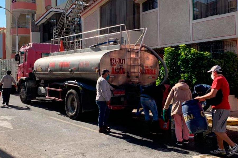 Sedapar corte de agua Arequipa