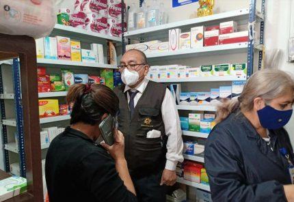 Arequipa: intervienen dos boticas que atendían sin autorización sanitaria