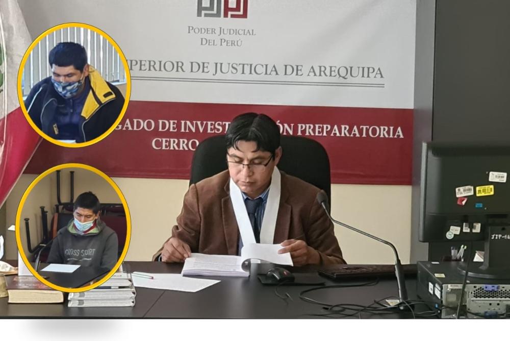 Arequipa: juez envía al penal a hombres que mataron a joven por un celular
