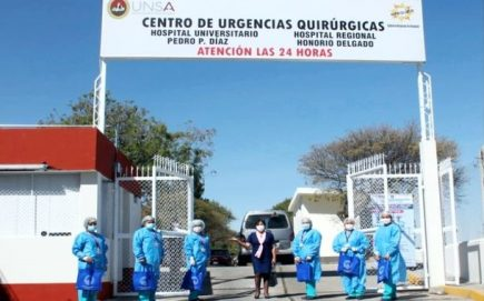 Médicos de Honorio Delgado, Goyeneche y otros centros atenderán en Pedro P. Díaz