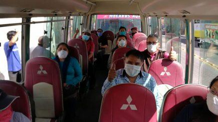 Arequipa: Transporte público habilitará el 100% de su capacidad