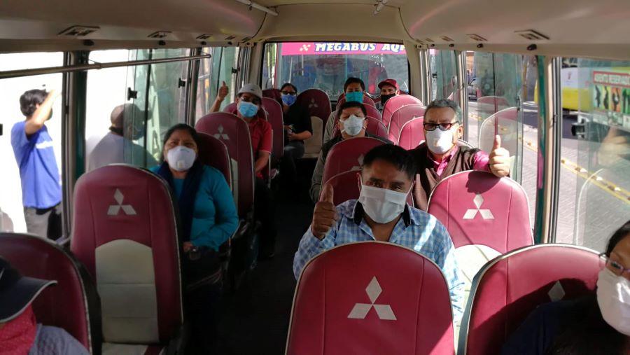 Arequipa, transporte público