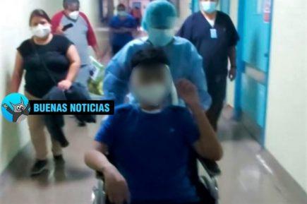 Arequipa: Joven de 15 años superó covid-19 tras 71 días internado en UCI
