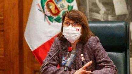 Ministra de Salud: un bajo porcentaje de asintomáticos pueden contagiar covid-19