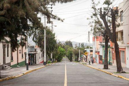 El impacto ambiental del coronavirus en Arequipa