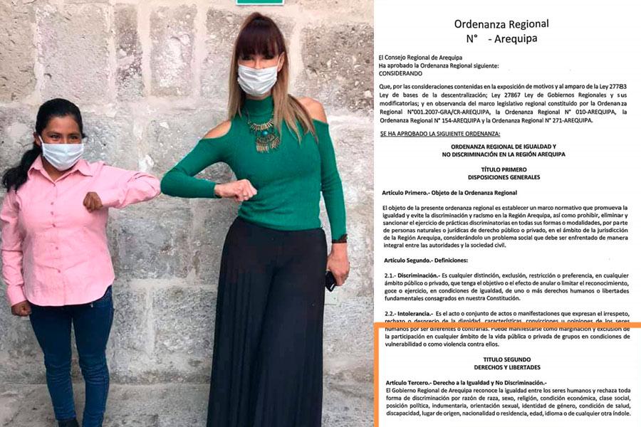 Arequipa, discriminación