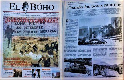 #Hace20Años ¿Garantía o amenaza? Inadmisible ataque armado a humildes pobladores