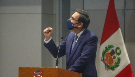 """Vizcarra sobre 'pseudo gabinetes' de Manuel Merino: """"eso es conspiración"""""""
