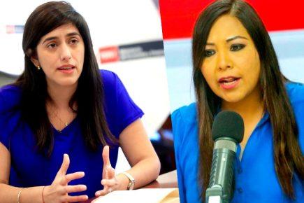 Congresista Cecilia García se enfrenta a ministra de Economía (VIDEO)