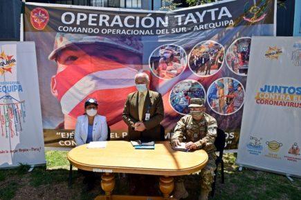 Realizarán pruebas de descarte de covid-19 en Cayma, Yura y La Joya