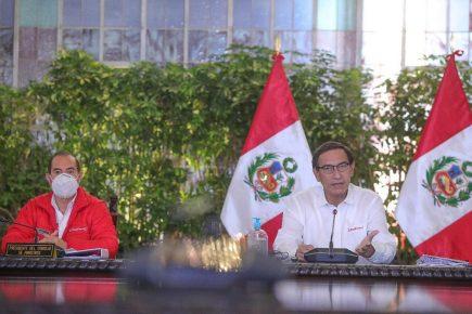 Presidente Vizcarra anunció inicio de Fase 4 de reactivación económica