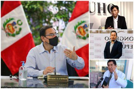 Reacción de congresistas arequipeños a los audios de presidente Martín Vizcarra