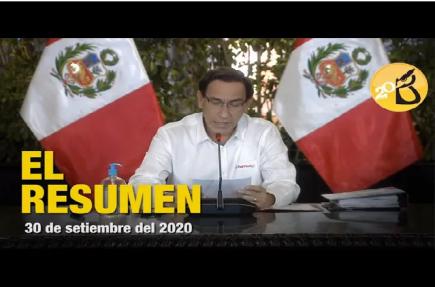 """Vizcarra: """"Soy un presidente que ha gobernado frente a  la adversidad"""""""