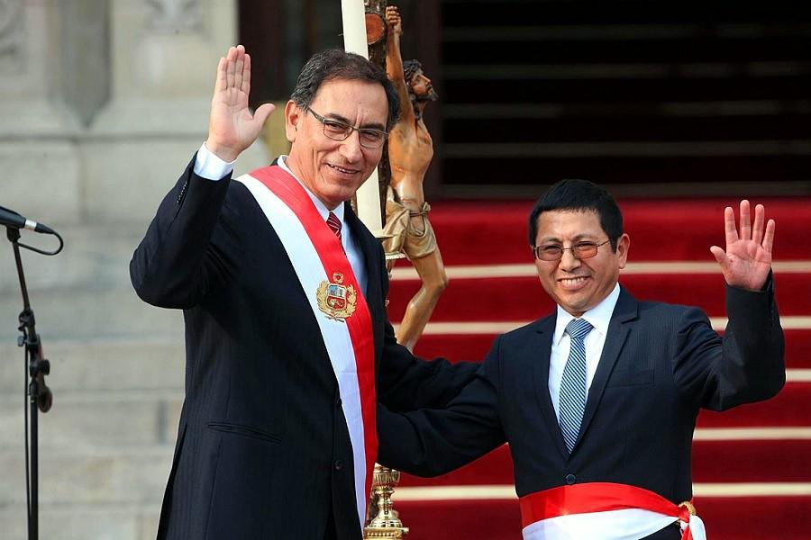 Martín Vizcarra, Edmer Trujillo