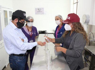 La UNSA fabricará alcohol en gel para sus estudiantes